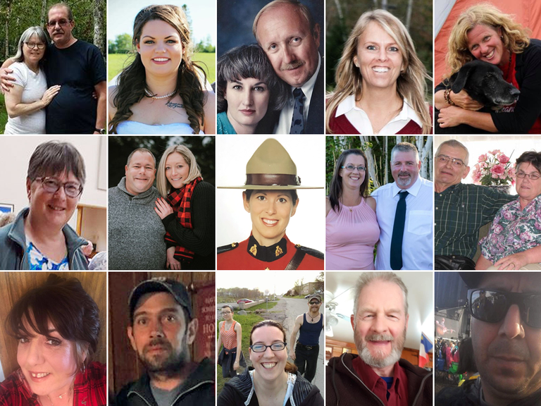 Victims of the Gabriel Wortman shooting rampage in Nova Scotia.