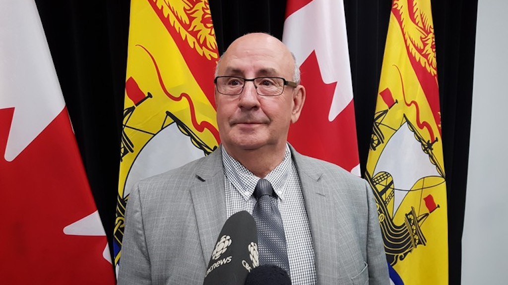 Minister of Public Safety Carl Urquhart.