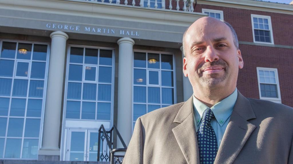 Michael Boudreau, criminology professor at St. Thomas University.