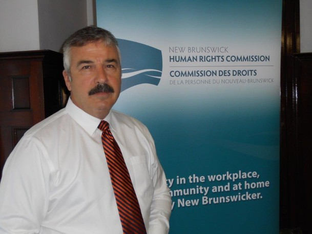 """DirectorMarc-Alain Mallet said New Brunswick's Human Rights Commission has been """"experiencing a considerable and steady increase"""" in questions and complaints, especially about proof of vaccination and masking policies."""