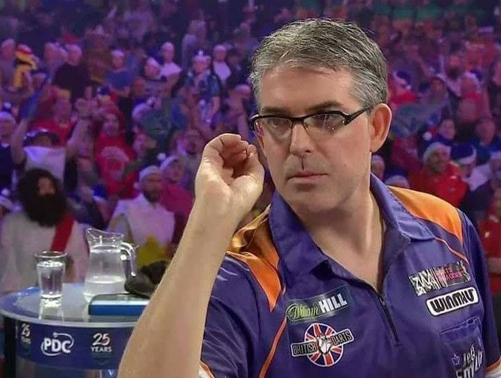 Darts world pro Jeff Smith, from Hampton, came back from a tournament in England $6,925 richer.