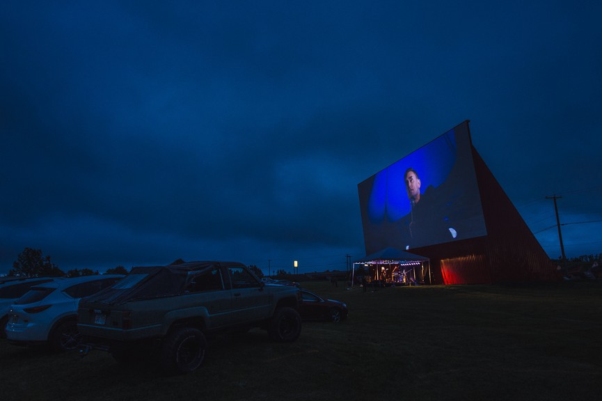 Award-winning comedian James Mullinger is returning to the Sussex Drive-In for a second drive-in comedy and music show, slated for July 10.