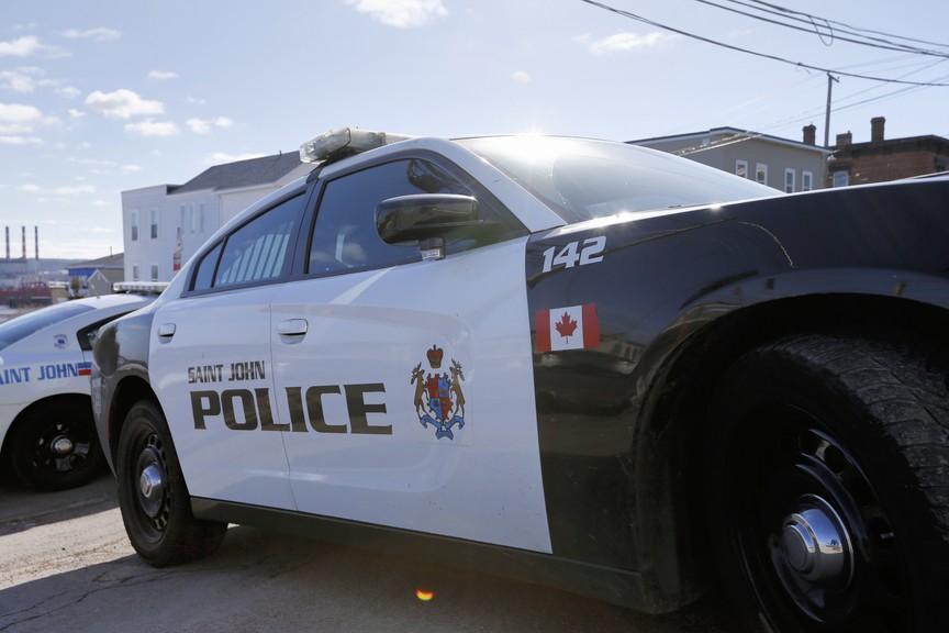 A Saint John Police Force vehicle.