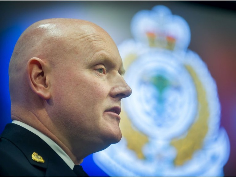 Vancouver Police Chief Adam Palmer, who is president of the Canadian Association of Chiefs of Police, said Thursday at news conference that the organization is officially recognizing that substance use and addiction is a public health issue. 'We recommend that Canada's enforcement-based approach for possession be replaced with a health care approach that diverts people from the criminal justice system.'