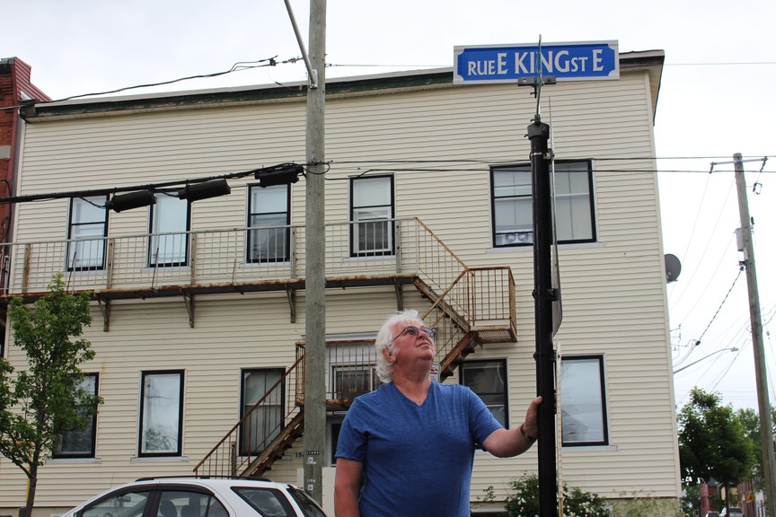Peter Little has been advocating that the name of the first Canadian-born Black lawyer, Abraham Walker, to appear on a building, school or street, such as King Street East (pictured above), for three years.
