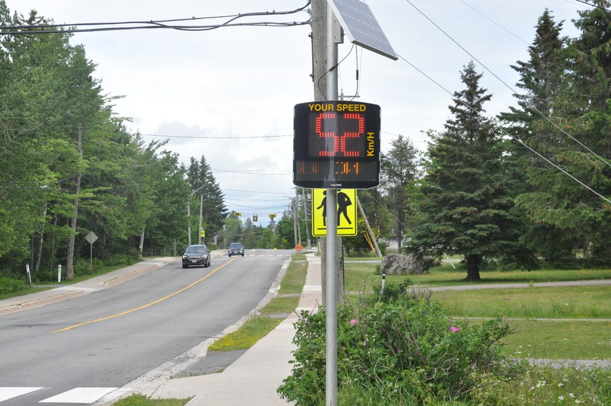 Quispamsis is hoping to move the needle on photo radar and change the Motor Vehicle Act to allow municipalities to use that technology to check law-breakers. Coun. Kirk Miller said speeding is a big issue and they've already implemented several speeding reminders but the issue persists.