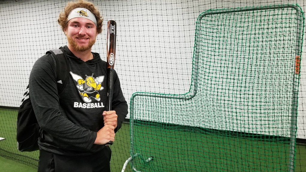 Jordan MacDonald's rookie baseball season with the NCAA Division 2 American International College Yellow Jackets was cut short by the COVID-19 pandemic, but the Fredericton native won't lose a season of eligibility.