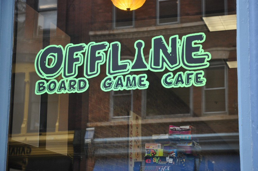 Susan Pass said she's been forced to close Offline Board Game Café on Prince William Street in uptown Saint John due to the ongoing COVID-19 crisis.