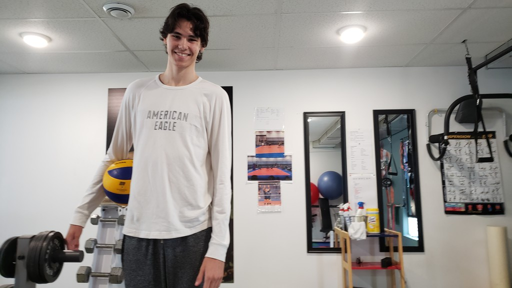 Julien Phillips, 17, has been named to the 2020 19U men's national volleyball team, the only player from Atlantic Canada on the 24-man squad.