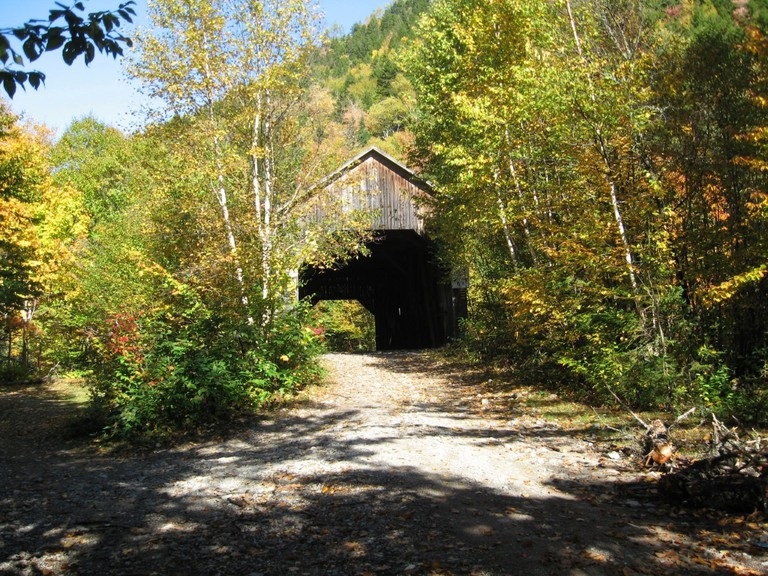 Crooked Creek in Albert County is one of the most picturesque covered bridges in New Brunswick.