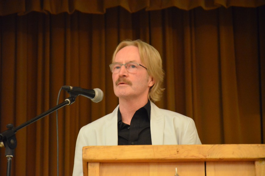 Miramichi physician Gerard Losier, shown at the 2019 Josie Foundation fundraising dinner, has been recognized with a meritorious service medal from Gov. Gen. Julie Payette for his efforts to promote better health services in the Miramichi region.