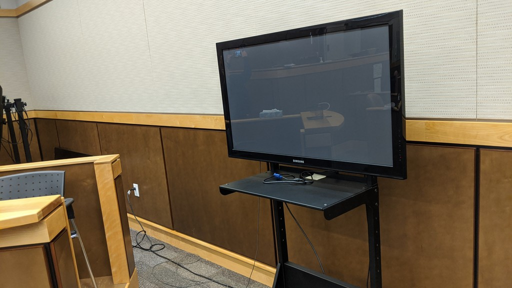 A Nova Scotia man appeared at the Moncton Law Courts via video conference on Friday, on a variety of charges.