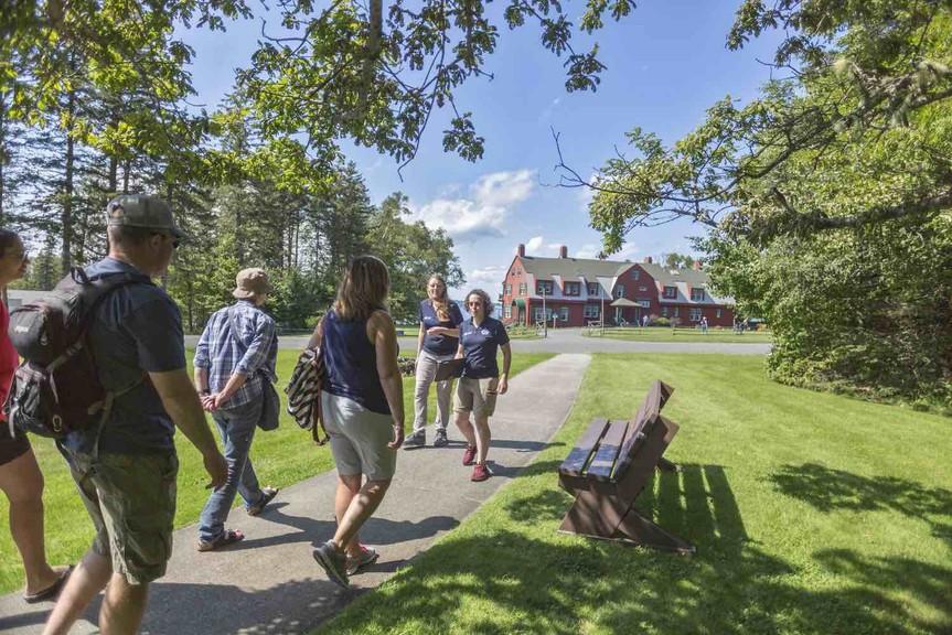 Roosevelt Campobello International Park is home to former U.S. president Franklin D. Roosevelt's summer home.