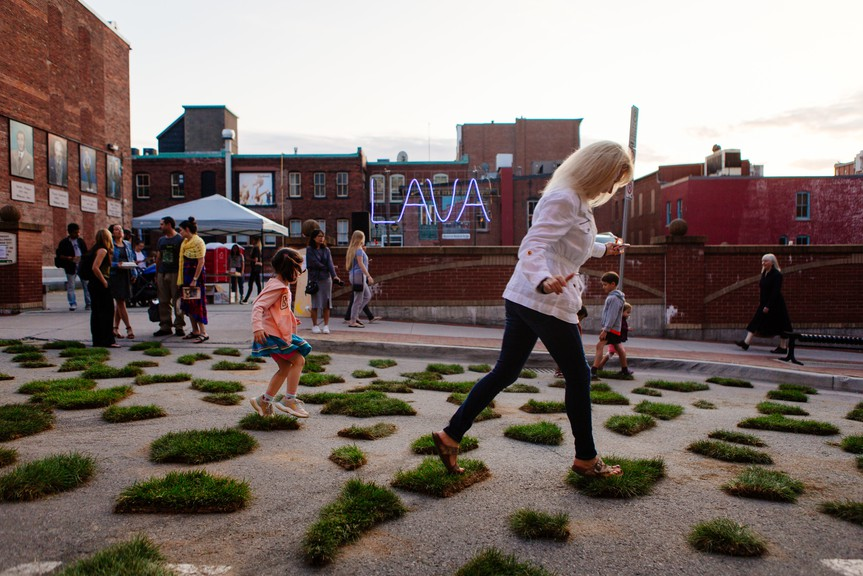 This year's Third Shift festival will place art at approximately 20 locations uptown.