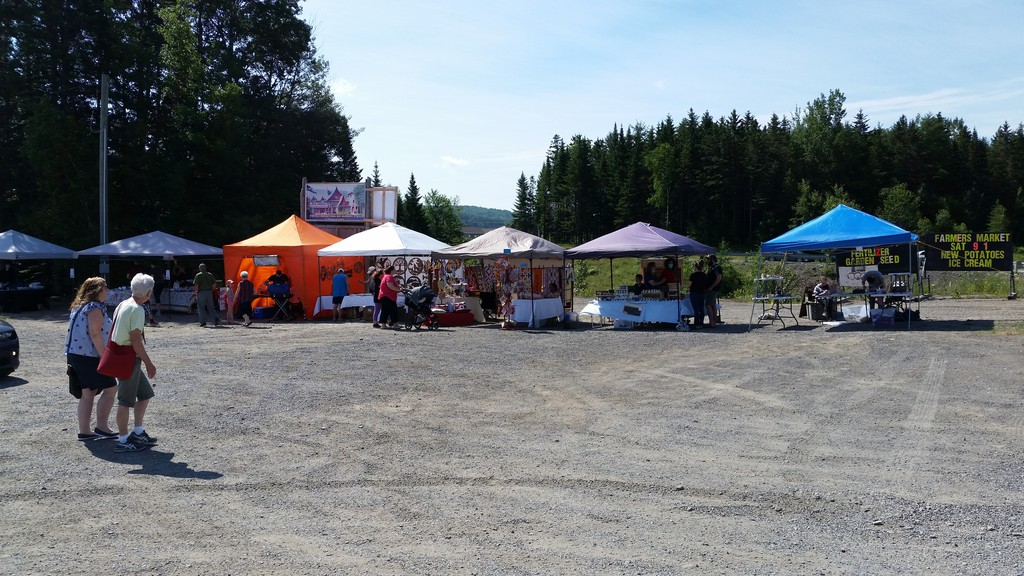 Food, handicrafts, jewelry, artwork, chocolate, woodwork, home baking and more were available at the Hillcrest Farmers Market in Perth-Andover on July 4.
