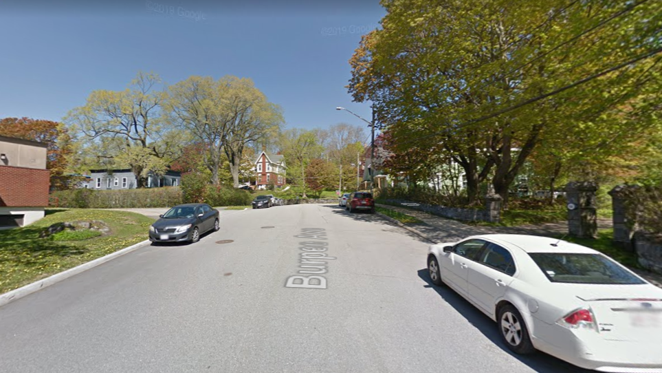 Burpee Avenue will have no on-street parking for most of Tuesday.