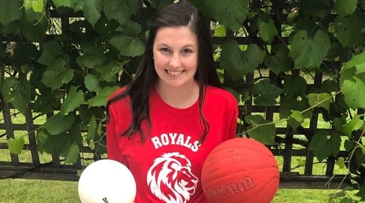 Keira Rafferty was selected the female athlete of the year at Riverview High School.