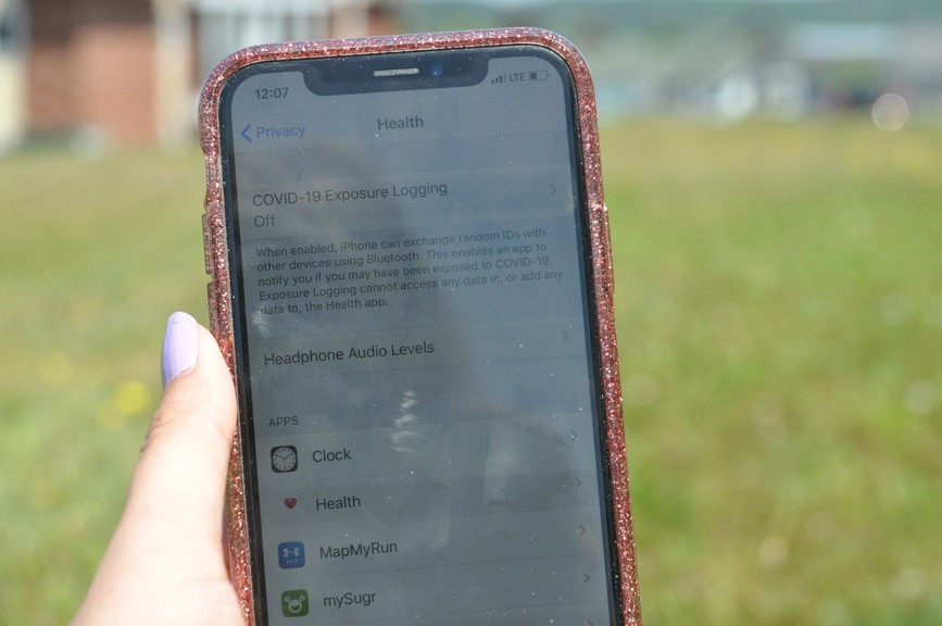 The COVID-19 Exposure Logging on smartphones was developed by major international technology companies Google and Apple. It does not track your location, but rather uses Bluetooth signal to log moments of close proximity to other phone users – it's the backbone for future apps that could alert a user to a potential coronavirus exposure.