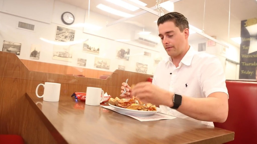 Fredericton realtor Jeremy Deering is drumming up support for local restaurants with his Facebook page Fredericton Food-to-go.