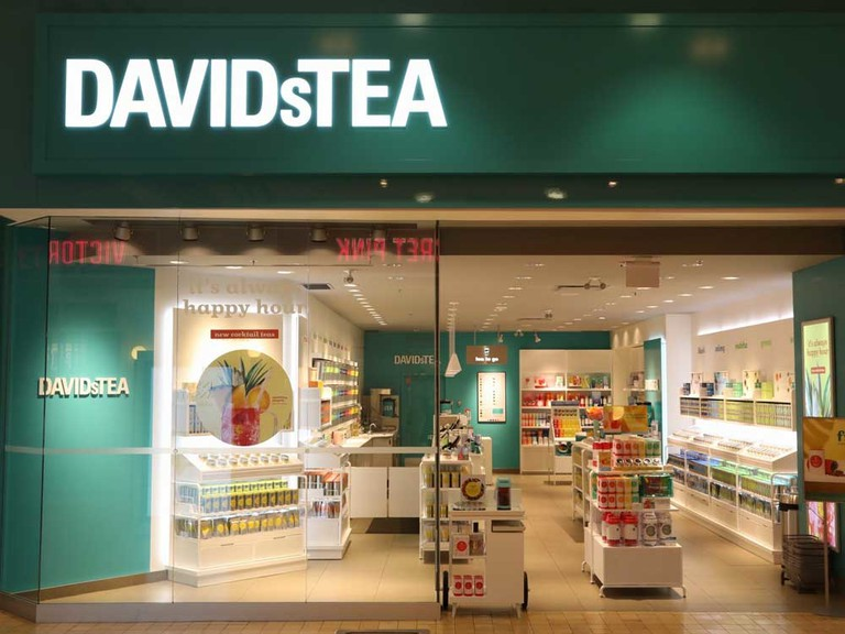 DavidsTea said it would cut stores in its restructuring.