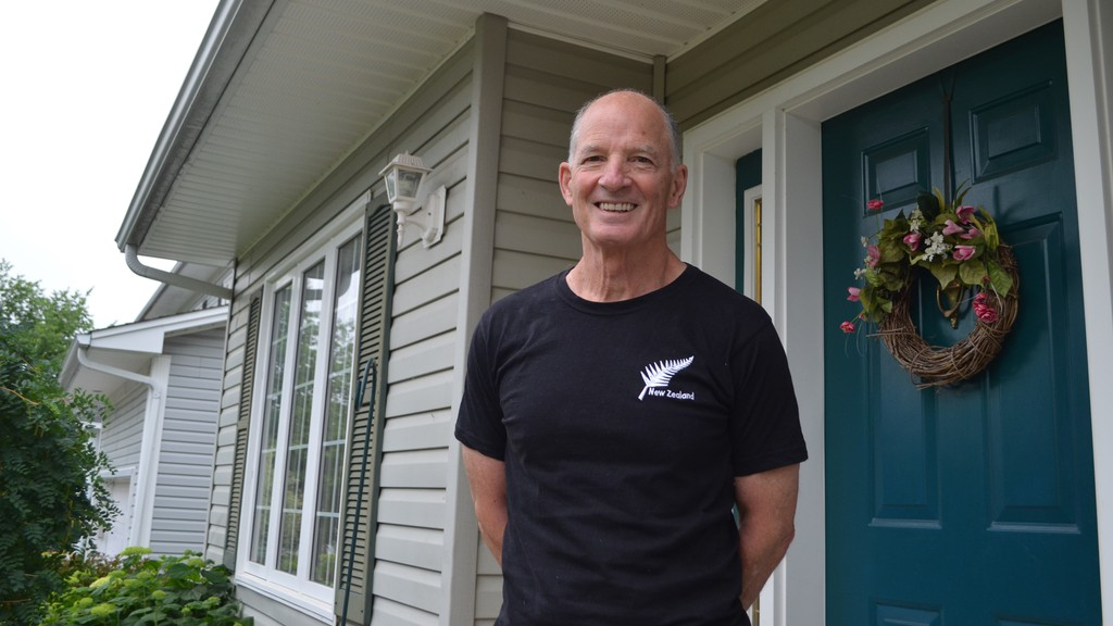Dave Ferguson is donating his one-time $300 federal COVID-19 assistance benefit to charity and is challenging other seniors who can afford it to do the same.