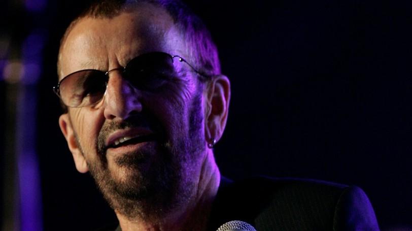 Ringo Starr is shown at Hordern Pavilion in Sydney, Australia.