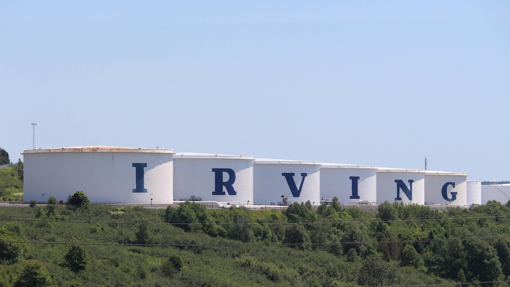Irving Oil announced Wednesday it's laying off 250 employees across several countries.