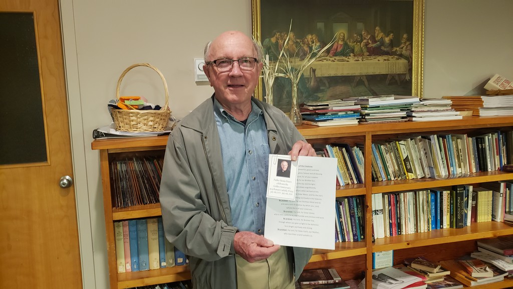 Father Monte Peters celebrated his 50th anniversary as a member of the clergy last week.