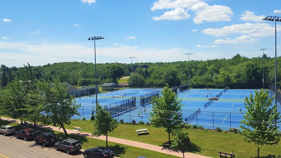 Tennis Moncton has been busy since the club opened for the season in early June.