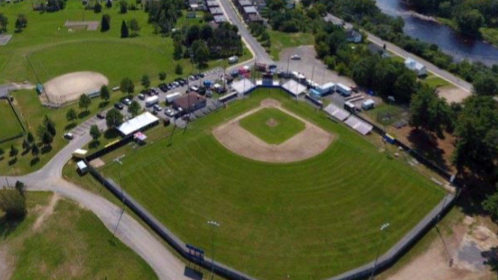 This aerial view of Royals Field in Marysville comes from Fredericton's new needs assessment study of baseball fields in the capital released Thursday.