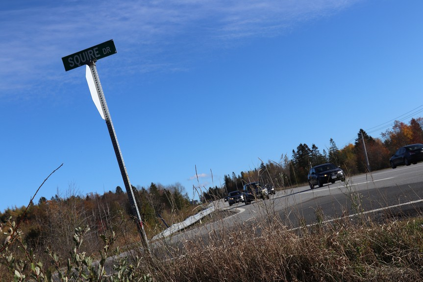 Construction begins on the Squire Drive roundabout next week, and will cause detours and delays until Labour Day.