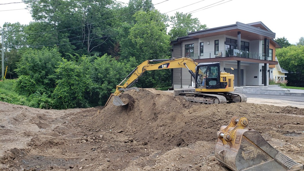 Controversial fill was removed from a site on Waterloo Row this week, much to the relief of neighbours who were worried it would cause extra flooding on their property.