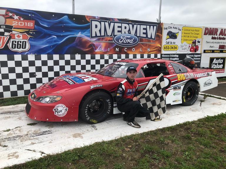 Ashton Tucker won the season-opening Pro Stock 100 race Sunday afternoon at Speedway 660.