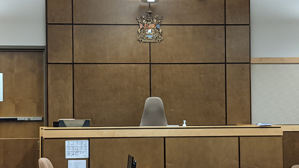 A man was charged with arson and killing a dog at the Moncton Law Courts on Thursday.