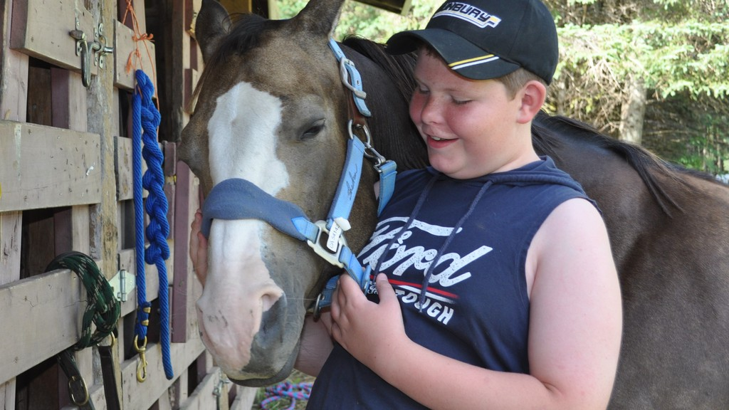 Jackson Arbeau of Florenceville-Bristol and his horse Mocha were first-time participants at the Valley Horse and Saddle Club riding clinic in 2019. The saddle club is having a smaller than usual clinic from Aug. 10-14 due to COVID-19, followed by a small show for clinic participants only.