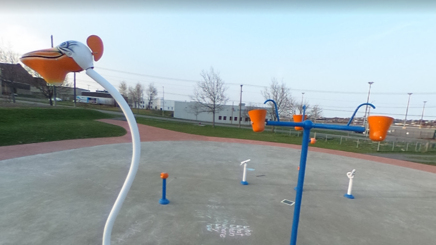 The Rainbow Park splash pad, along with two other splash pads and five beaches, will be open for New Brunswick Day.