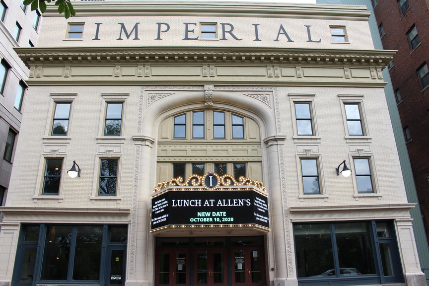 The Imperial Theatre will host Symphony New Brunswick on Wednesday.