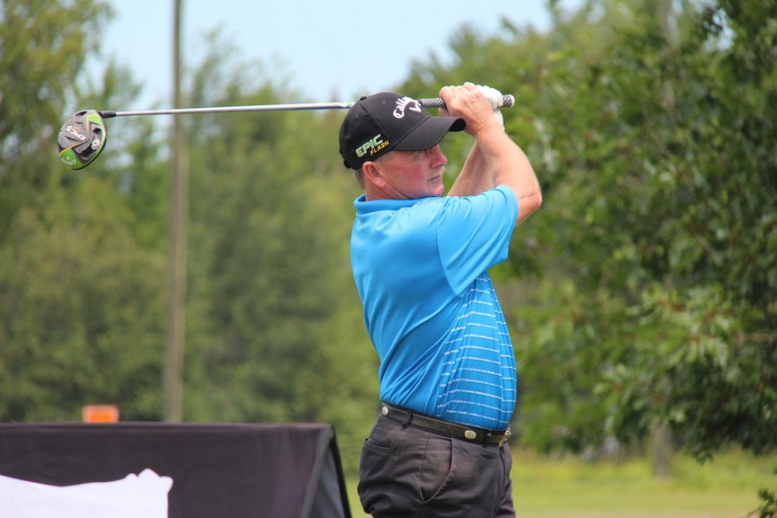 Darren Ritchieof the Hampton Golf Club reached a career goal this week by participating inNew Brunswick's 2020 Senior Men's Championship. Ritchie placed third in the senior division after three rounds.