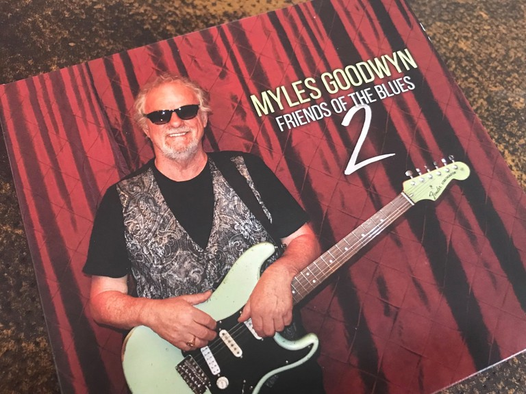 Campbellton native Rick Hutchinson created the CD cover for Myles Goodwyn's newest album.