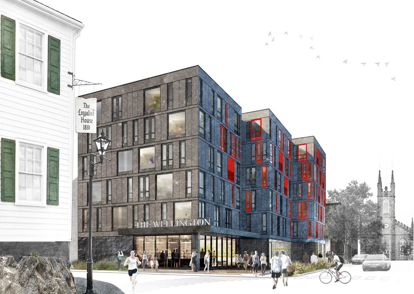 The Wellington, a mixed income apartment complex, is an example of affordable housing options that are being built in Saint John.