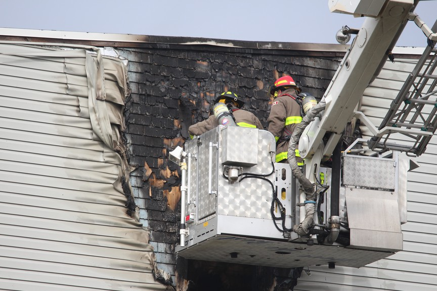 A fire at 78 St. James St. on Wednesday morning has killed a cat.