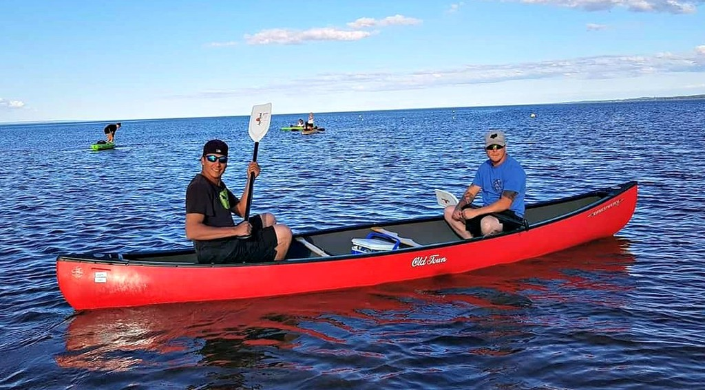 Tim Caplin of North Shore Adventures in Eel River Bar says the most rented equipment are canoes and kayaks.