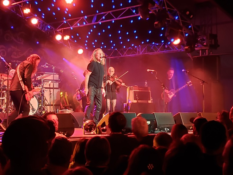 Robert Plant performs at the Harvest Jazz and Blues Festival in Fredericton in 2019. Will we ever see such large shows again? Tech company The Black Arcs hope to provide venues with information of crowds that can be safely allowed so organizers can determine if the economics make sense.