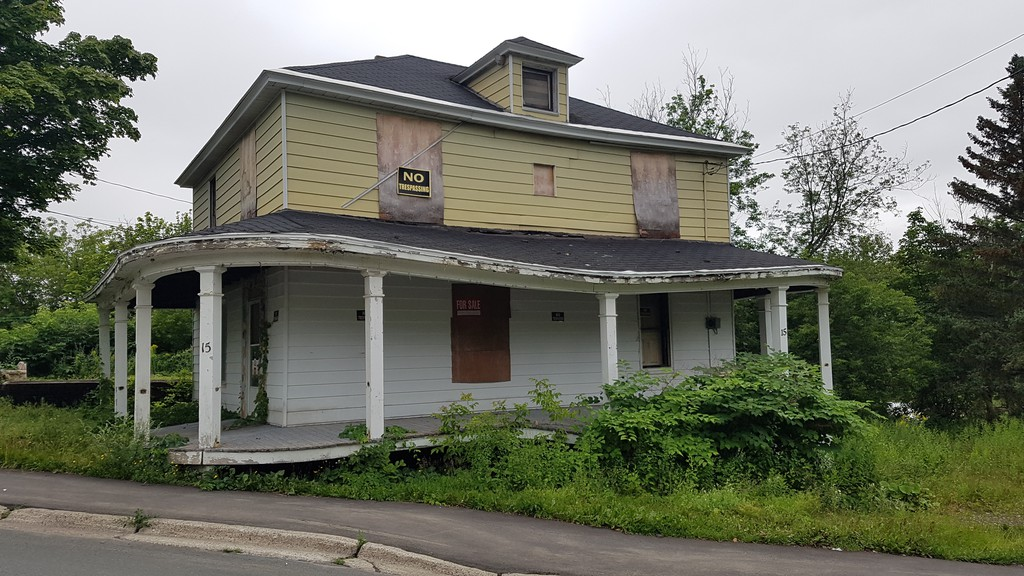 This week's editorial argues that Campbellton should make unsightly premises, like this one on Cedar Street, a greater priority.