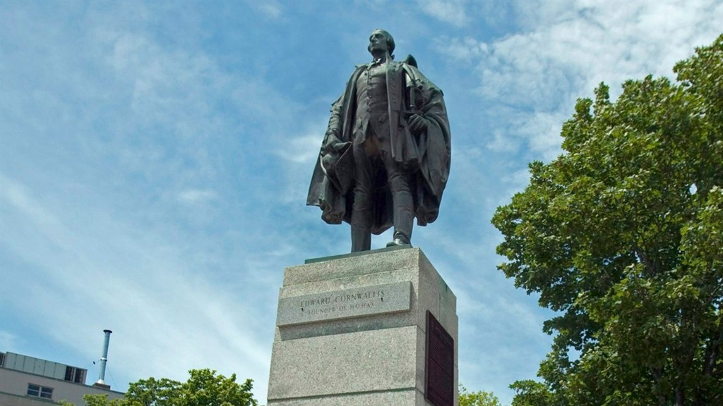 Learning our history means re-examining why we commemorate people like Edward Cornwallis, whose statue in Halifax, pictured here, was taken down in 2018.