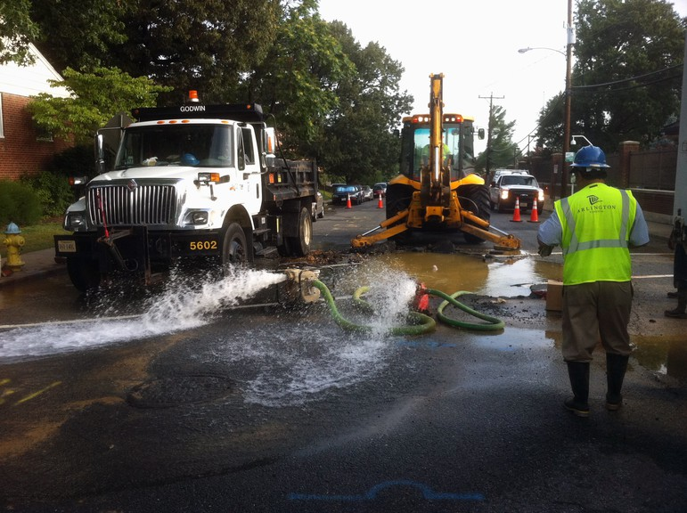 Peter Street from Winter Street to Church Avenue in Sussex is closeddue to a water break. The work is expected to be finished by the end of Thursday.