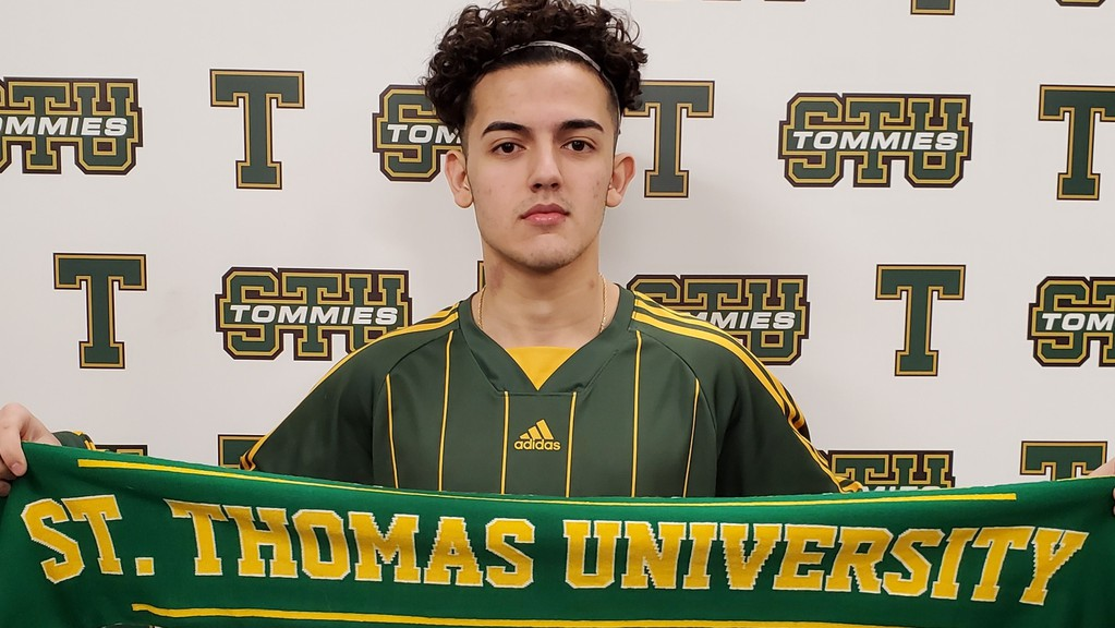Moman Abdul, a member of the Berlin XI based out of Kitchener, Ont., has committed to the STU Tommies men's soccer team.