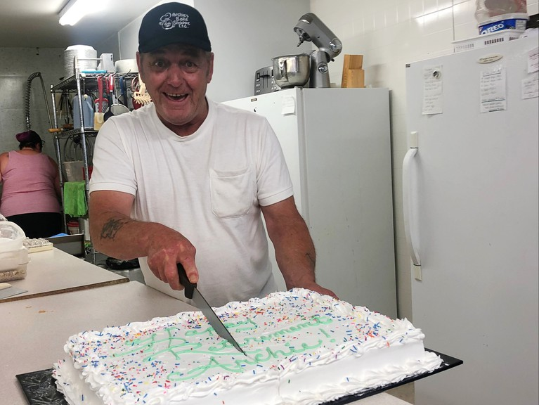 Archie Dorie, the owner of Archie's Bake Shoppe, confirmed the bakery would stay open after an announcement on social media last week said it would be closing.