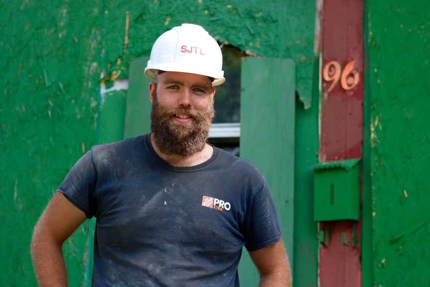 Brent Harris, founder of the Saint John Tool Library, said he's seen an increase in amount of tools being borrowed since the lockdown began as people look to take up projects to pass the time at home.