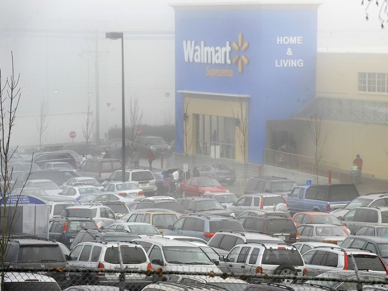 WalMart opens near Grandview and Boundary in Vancouver.